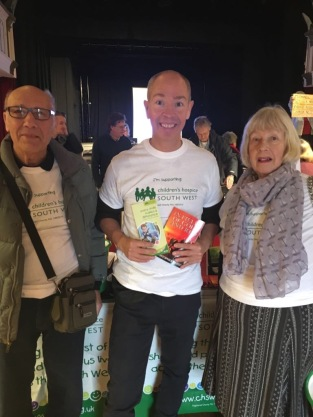 Bridport Book Fest, Brian Legg, Christopher Legg, Christine Legg